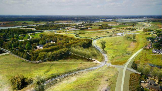 Hoogwater in Limburg